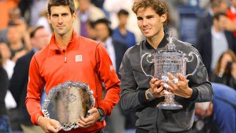 2013: US Open final (Nadal wins 6-2, 3-6, 6-4, 6-1)