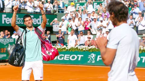2013: French Open semifinal (Nadal wins 6-4, 3-6, 6-1, 6-7(3), 9-7)