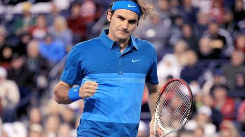 2012: Indian Wells semifinals (Federer wins 6-3, 6-4)