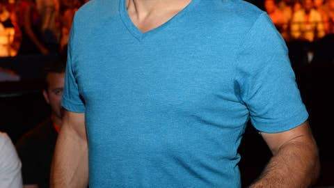 UFC Hall of Fame member and pageant judge Chuck Liddell
