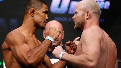 UFC middleweights Mark Munoz and Tim Boetsch