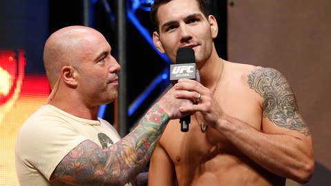 Joe Rogan and Chris Weidman