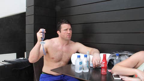 The poolside gangster from West Linn, Mr. Chael P. Sonnen