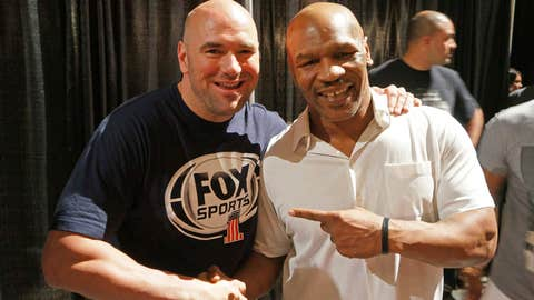 Dana White and Mike Tyson