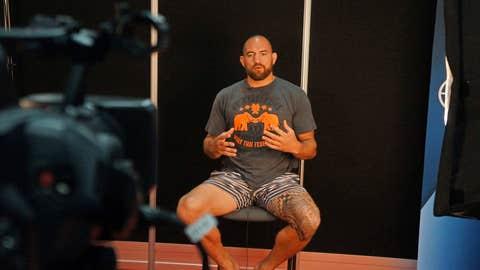 UFC heavyweight Travis Browne