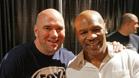 Dana White and Mike Tyson at the 2013 UFC Fan Expo