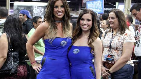 Not 1, but 2 FOX Sports 1 girls