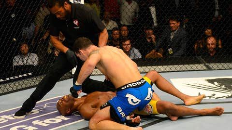 Lights out for Anderson Silva at UFC 162