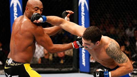 Power in the air, power on the ground from Chris Weidman
