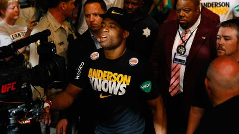 Anderson Silva knows upsets