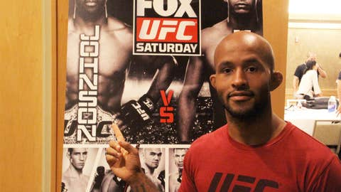 Mighty Mouse with Demetrious Johnson, or the other way around?