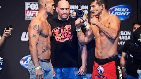 Robbie Lawler and Bobby Voelker