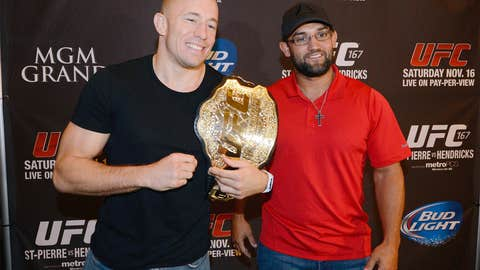GSP and Hendricks: The welterweight belt is on the line