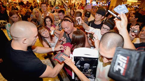 Georges St-Pierre at the MGM Grand in Las Vegas