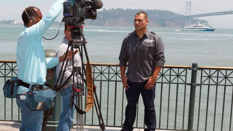 SF Media Day with Cain Velasquez