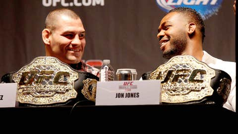 Cain Velasquez and Jon Jones