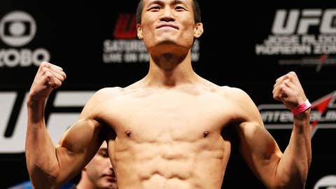 'The Korean Zombie' Chan Sung Jung