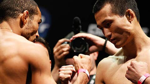Jose Aldo and Chan Sung Jung
