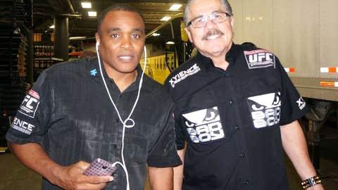 UFC cut men Don House and Jacob 'Stitch' Duran