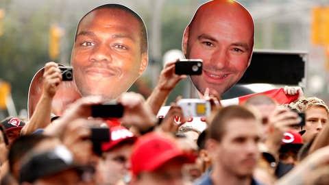 Jon 'Bones' Jones and UFC President Dana White