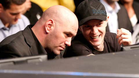 Dana White and Deadmau5