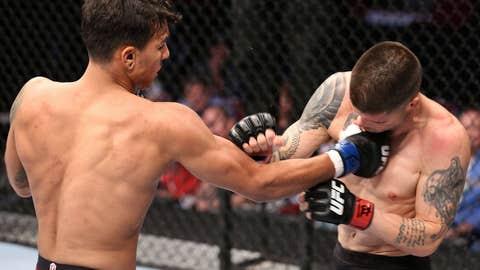Fili looked impressive in his UFC debut