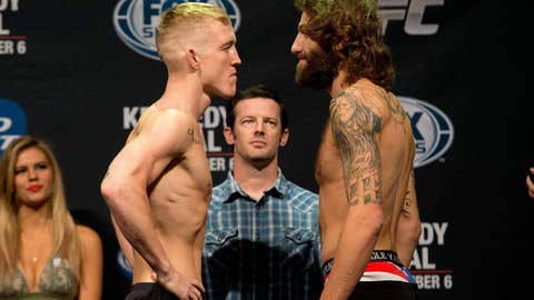 TUF guys: Colton Smith and Michael Chiesa