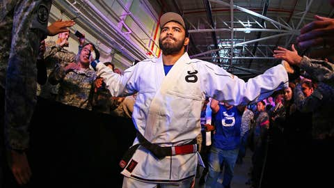 Natal making his way to the Octagon