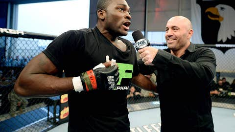 Joe Rogan interviews Derek Brunson after his victory