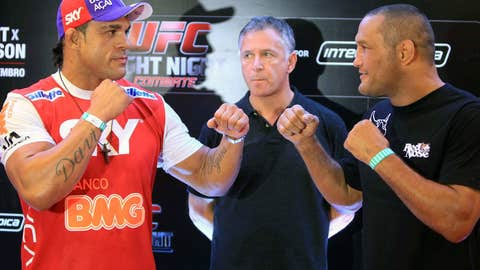 Belfort and Hendo face off