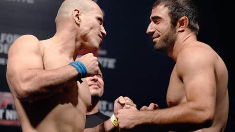 Thiago Perpetuo and Omari Akhmedov