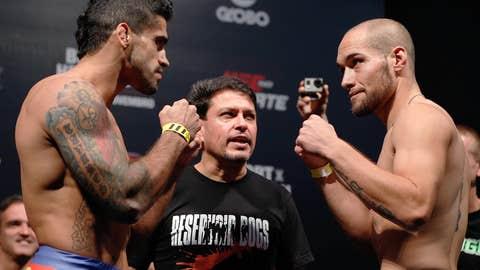 Thiago Tavares and Justin Salas