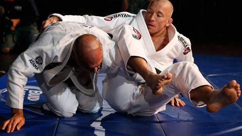 Royce Gracie and GSP