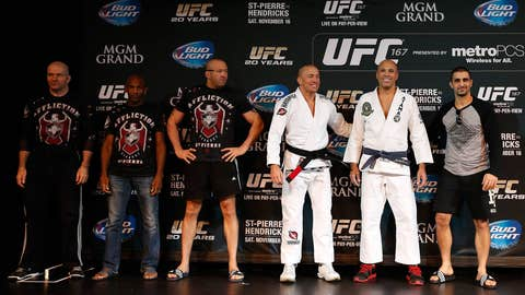 GSP and Royce Gracie