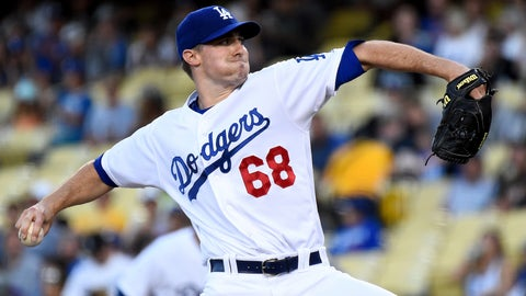 Dodgers starting pitcher Ross Stripling