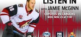 Coyotes host Canucks as busy stretch begins