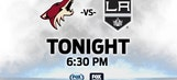 Coyotes hope for another strong effort from Smith vs. Kings