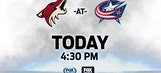 Coyotes look to even score vs. Blue Jackets