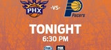 Suns look to complete season sweep of Pacers