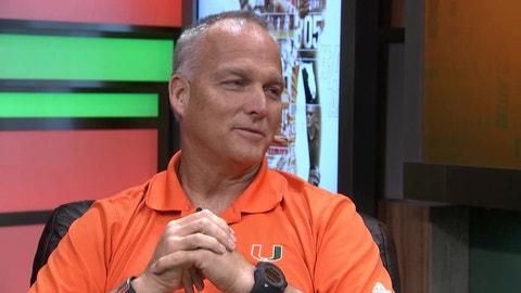 Mark Richt, Miami