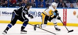 Lightning fall to reigning Stanley Cup champion Penguins
