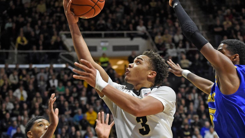 Boilermakers thrive from behind the arc in 90-56 win over Morehead State