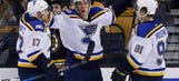 Blues seek fifth straight win — and second in a row on the road