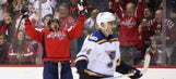 Ovechkin collects hat trick as Blues fall 4-3 to Capitals