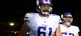 Vikings' Berger, Sherels ruled out vs. Dallas