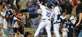 NL West: Dodgers look for series sweep of Giants