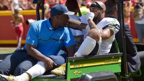 Keenan Allen, WR, Chargers (knee)