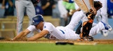 NL West: Bumgarner, Puig clash; Dodgers rally past Giants 2-1 in 9th