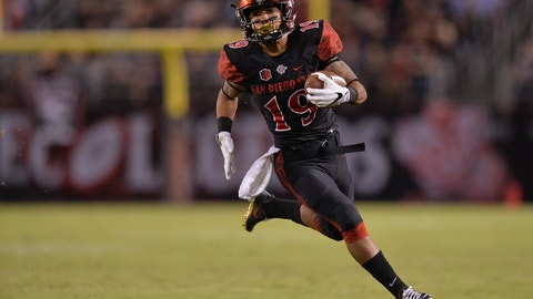 The San Diego State star was one of only two players who rushed for over 2,000 yards in 2016, joining Texas' D'Onta Foreman.