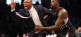 Enraged Rivers ejected after technical for crossing midcourt